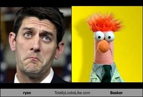 ryan Totally Looks Like Beaker