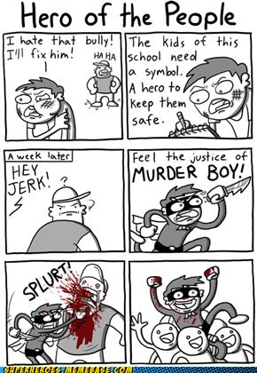 MURDER BOY!