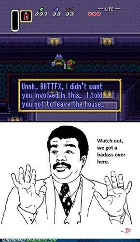Link to the past, sure is badass