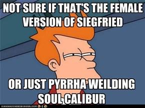 I'd Say Pyrrha