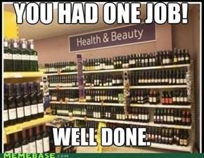 I smell a promotion!