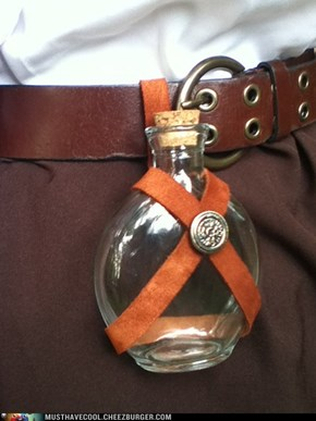 Renaissance Belt Bottle