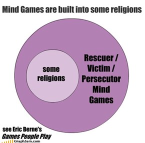 Mind Games are built into some religions
