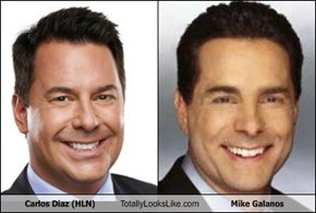 Carlos Diaz (HLN) Totally Looks Like Mike Galanos