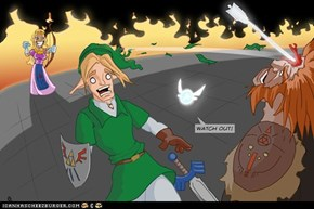 The Legend of Emancipated Zelda by DerFotokeks