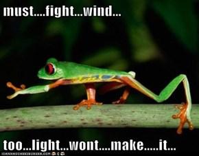 must....fight...wind...