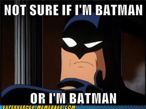 Or Am I Batman?