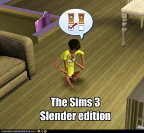 The Sims 3 Slender edition