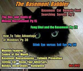 The Basement Babbler, Oct 2012