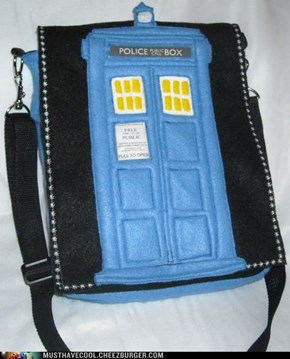 Tardis Fan Purse