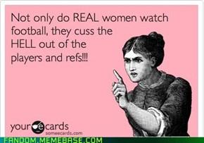 Female Sports Fans