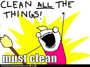 must clean
