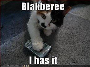 Blakberee  I has it