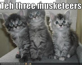 Teh three musketeers