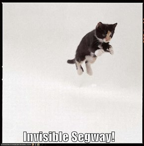 Invisible Segway!