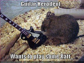 Guitar Herodent  Wants to play some Ratt