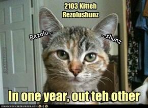 2103 Kitteh Rezolushunz
