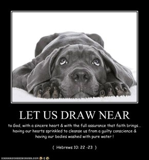 LET US DRAW NEAR