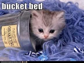 bucket bed