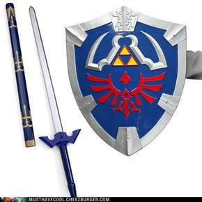 Legend of Zelda Master Sword & Shield