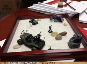 Fixed My Bosses Zen Garden
