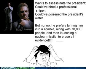 resident evil 6 logic!