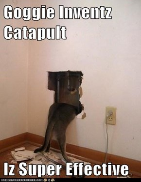 Goggie Inventz Catapult  Iz Super Effective