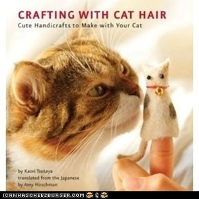 So This Exists: Crafting With Cat Hair : A How-To Book
