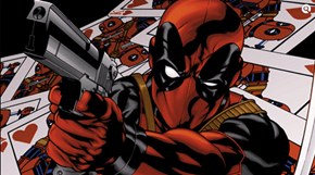 Playing Cards With Deadpool