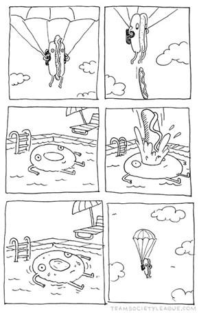 The Continuing Adventures of Hotdog Man