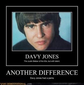 Davy Jones Difference