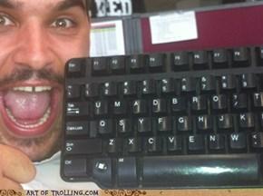 Classic keyboard troll