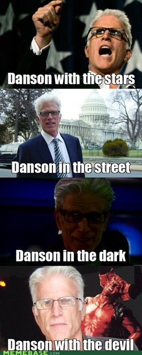 Danson to the music