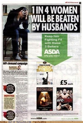 There's no place like ASDA…. well… maybe not there.
