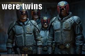 were twins
