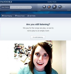 Overly Attached Pandora
