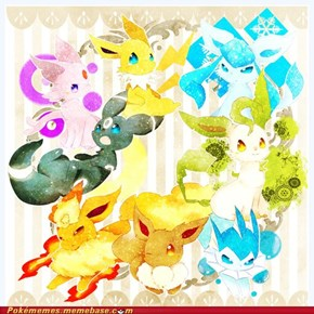 Eeveelutions eye-candy