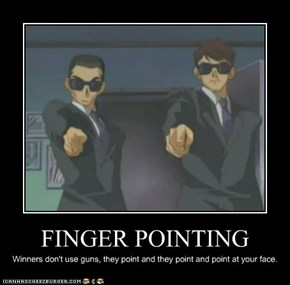 FINGER POINTING