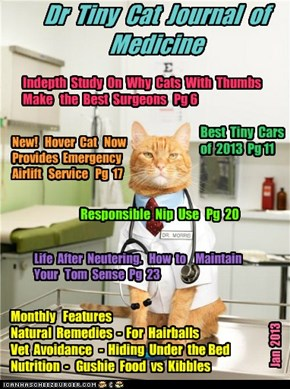 Dr  Tiny  Cat  Journal  of  Medicine