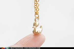 Tiny tiny duck