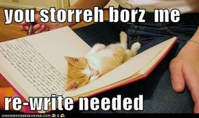 you storreh borz  me  re-write needed