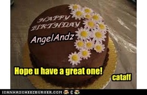 Happy Birthday wishes to AngelAndz