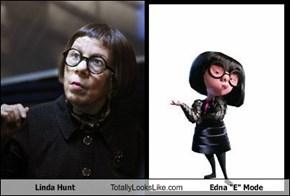 """Linda Hunt Totally Looks Like Edna """"E"""" Mode"""