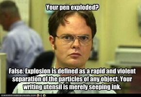 Use a Pencil