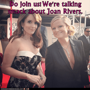 Do join us!We're talking smack about Joan Rivers.