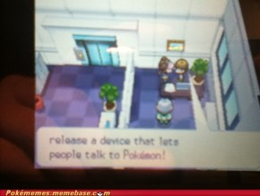 Talking pokemon