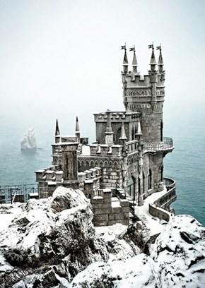A Snowy Keep