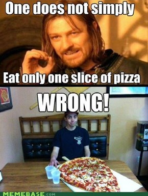 One Does Not Simply Finish That Masterpiece