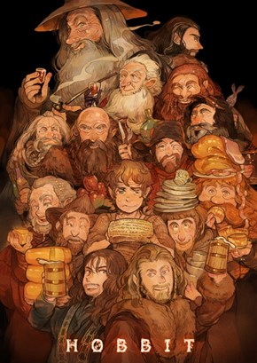 The Hobbit Anime Poster
