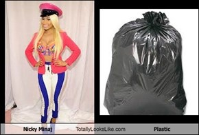 Nicky Minaj Totally Looks Like Plastic